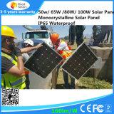 Integriertes Solarstraßenlaternefür 40W LED Lampe mit Li-Batterie