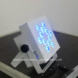 5in1 Licht van het Draadloze LEIDENE 12PCS*12W RGBWA PARI van Uplight/LEIDENE het Draadloze van de Batterij