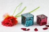 مربّعة زجاجيّة [فوتيف] شمعة مرطبان