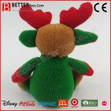 Het gevulde Rendier van het Stuk speelgoed voor Kerstmis