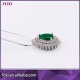 Diseño de la gota colgante y pendientes de moda de lujo joyería fija