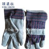 Handschoenen van het Lassen van de Hand van het Leer van de Zweep van 10.5 Duim de Beschermende met Ce