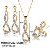여자 금 색깔 형식 보석 N012를 위한 지르코니아 Pendents 도매 목걸이