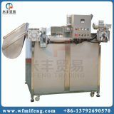 Pommes chips industrielles faisant frire la machine de friteuse