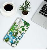 iPhone 8 аргументы за сотового телефона PU текстуры вышивки кожаный