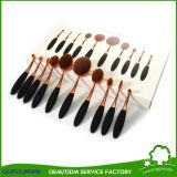 Spazzola cosmetica professionale multiuso stabilita di trucco di PCS di figura 10 del Toothbrush degli strumenti di trucco