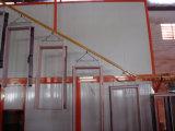 Электростатическая линия покрытия порошка для дверей