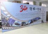 20FT gerader Foto-Stand-Gewebe-Ausdehnungs-Fahnen-Bildschirmanzeige-Hintergrund-Standplatz
