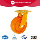Nylon PU желтого цвета сердечника катит промышленное шарнирное соединение