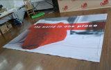 Banner van de Achtergrond van het EMBLEEM van de Tribune van de Vertoning van de Stof van de goede Kwaliteit POP omhooggaande