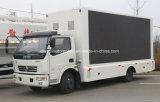 Dongfeng 4X2 LED que hace publicidad del vehículo carro móvil de la etapa de 6 T