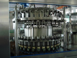 Garrafa de vidro automática completa com máquina de enchimento de álcool Cap Capa