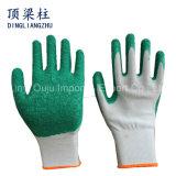 13 de Handschoen van de Veiligheid van de Polyester van de maat met Met een laag bedekte het Latex van de Kreuk