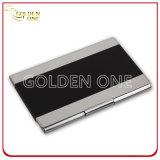 Détenteur de carte en aluminium de nom d'entreprise de qualité supérieure
