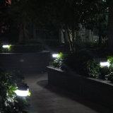 ландшафт солнечной силы 8PCS СИД напольный освещает светильник лужайки сада с светом фонарика светильника москита Repellent портативным Solar Energy ся солнечным