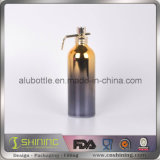 Бутылка алюминия брызга UV покрытия косметическая