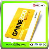 PVC de qualité de coût bas/escompte/cadeau/VIP/carte IDENTIFICATION RF de téléphone