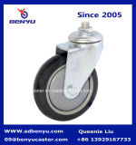 Korte Screw Cap Pu Wheel voor Industrial Caster