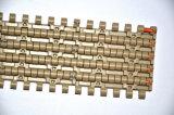 Tipo plano resistente banda transportadora modular plástica de la abrasión
