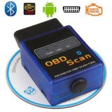 Ferramenta diagnóstica do carro do Pin do adaptador 16 do costume Elm327 OBD Bluetooth para V1.5 Android