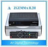 디지털 Satellite Receiver DVB S2 + Dual Core CPU Zgemma H. 2h를 가진 DVB T2 Satellite & Terrestrial Receiver