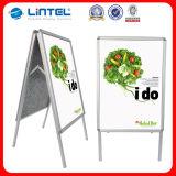 Placa de anúncio de alumínio tomada o partido dobro do sinal A1 (LT-10)
