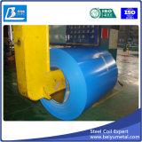 hoja de acero galvanizada prepintada 0.35m m en bobina