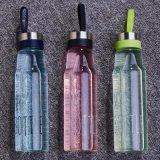 bottiglia di acqua calda di vetro di Borosilicate di vendita 500ml a parete semplice