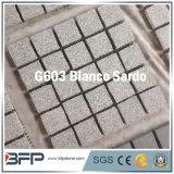 Китайский серый зацепленный камень Cobble в квадратной форме для вымощать