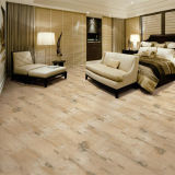 De houten Vloer van de Ceramiektegel kijkt als Houten