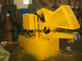Máquina que pela para cortar el perfil de aluminio
