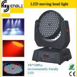 LED 108PCS 3watt RGBWの高い発電の移動ヘッド壁の洗濯機
