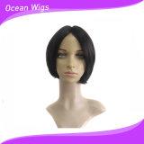 El color brasileño hecho a máquina de las pelucas #1b del pelo humano de la nueva del estilo 1PC del cortocircuito peluca llena al por mayor del pelo humano puede cambiar el pelo de Quercy del estilo