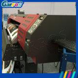 Impressora solvente de Garros Eco com impressão principal de Digitas do grande formato de 2PCS Dx7 na máquina da película de transferência