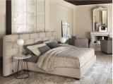 bed (B033) 유럽 디자인 형식 가죽 임금