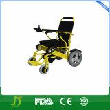 Tout le constructeur pliable de fauteuil roulant d'énergie électrique de terrain