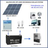 Инвертор и регулятор панели солнечных батарей упакованные как Дом-Using система PV