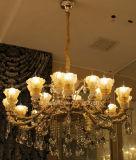 Iluminación interior de la decoración europea de Phine hecha de la lámpara pendiente de la aleación del cinc