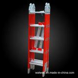 Escada de dobradura comum de múltiplos propósitos da escada FRP do produtor de China