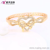 El último Fashion Xuping Elegant 18k Gold - brazalete de Plated Heart Jewelry con Rural Style