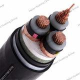 cable de transmisión aislado XLPE de la armadura de 33kv 3*150mm2