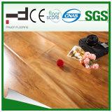 suelo de madera del laminado de la superficie el repujado de Techology del alemán de 8m m