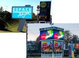 Heißer Verkauf P6 im Freien farbenreiche LED Bildschirm-Vorstand bekanntmachend