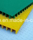 Решетка стеклоткани FRP GRP отлитая в форму решеткой