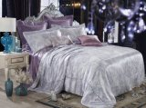 La materia textil Oeko del hogar de la nieve de Taihu certificó el conjunto de seda del lecho del Duvet inconsútil hermoso