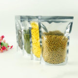 Stand up Transparent Laminated Food Pouch avec Zip Lock / Plastic Packing Bag avec Ziplock (ML-E13)