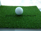 Миниое Football Synthetic Turf Manufacturer с Fibrillated Yarn