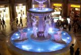 Acero inoxidable 9W RGB LED piscina subacuática Luz (JP90034)