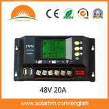 (Hm-4820A) 48V20A LCD PWM Solar Controller voor Solar Power System