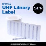 Etiqueta Monza 5 de la biblioteca de la frecuencia ultraelevada para la gerencia del libro